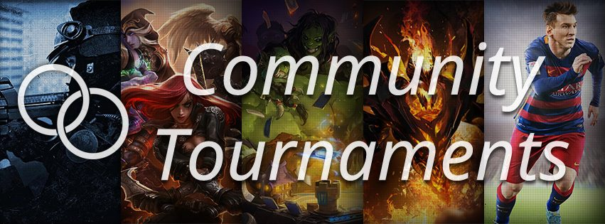 Here is the August's Open Community tournaments selection!