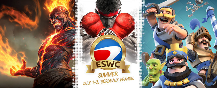 This week-end: ESWC Summer 2017
