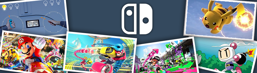 Nintendo Switch games are available on Toornament!