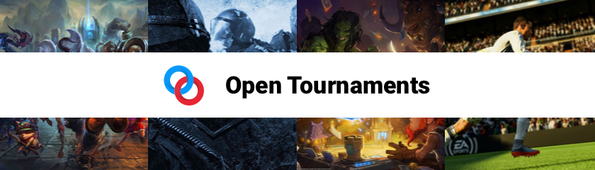The first batch of 2018 Open Tournaments is here!