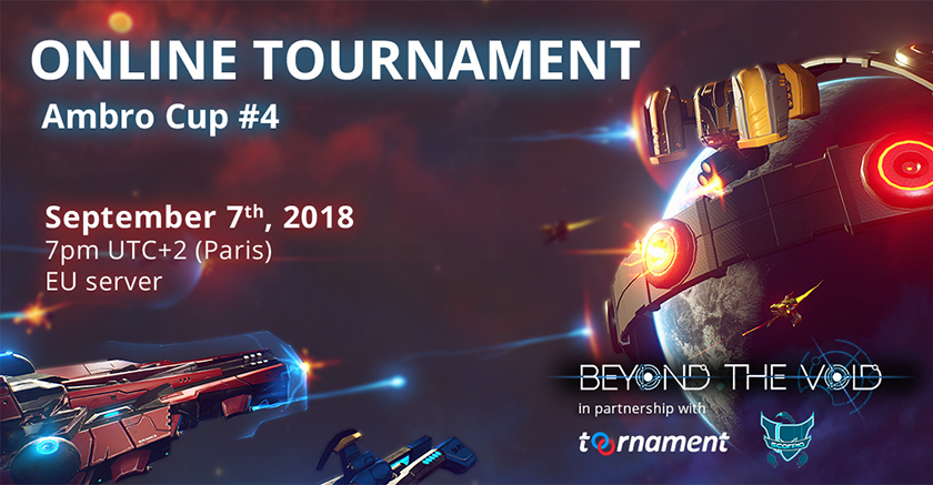 Better your chances in the next Beyond the Void tournament with Training Sessions with the Game Designer!